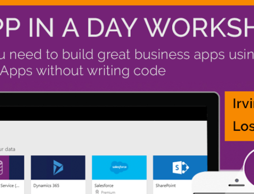 PowerApps in a Day – Free Training Workshop