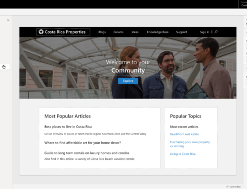 ​Engage with External Customers, Vendors and Partners – Power Apps Portal