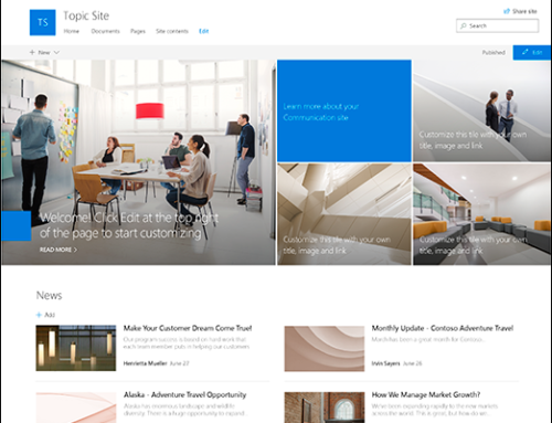 Can SharePoint Really Be Your Intranet?  What's New in SharePoint Communication Sites