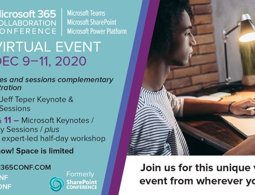 Join us at the Microsoft 365 Collaboration Conference Virtual Event